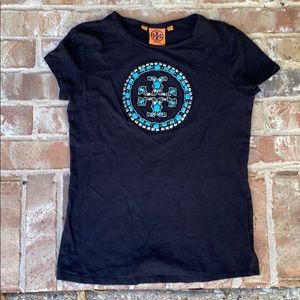Tory Burch Shirt with turquoise stones